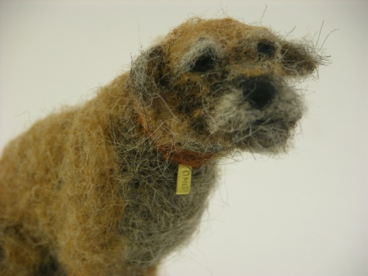 Domenica More Gordon wool felt dogs
