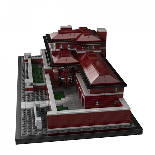 LEGO Architecture launches Robie House