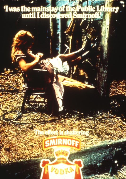 old Smirnoff ad