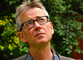 John Hegley at the Scottish Poetry Library tonight