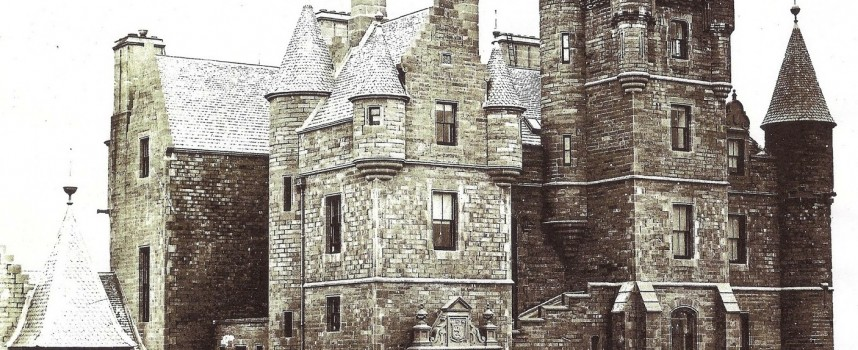 Balintore Castle: restoration romance and a message from beyond the grave