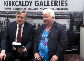 Kirkcaldy Galleries: local heroes celebrate reopening of town's cultural heart