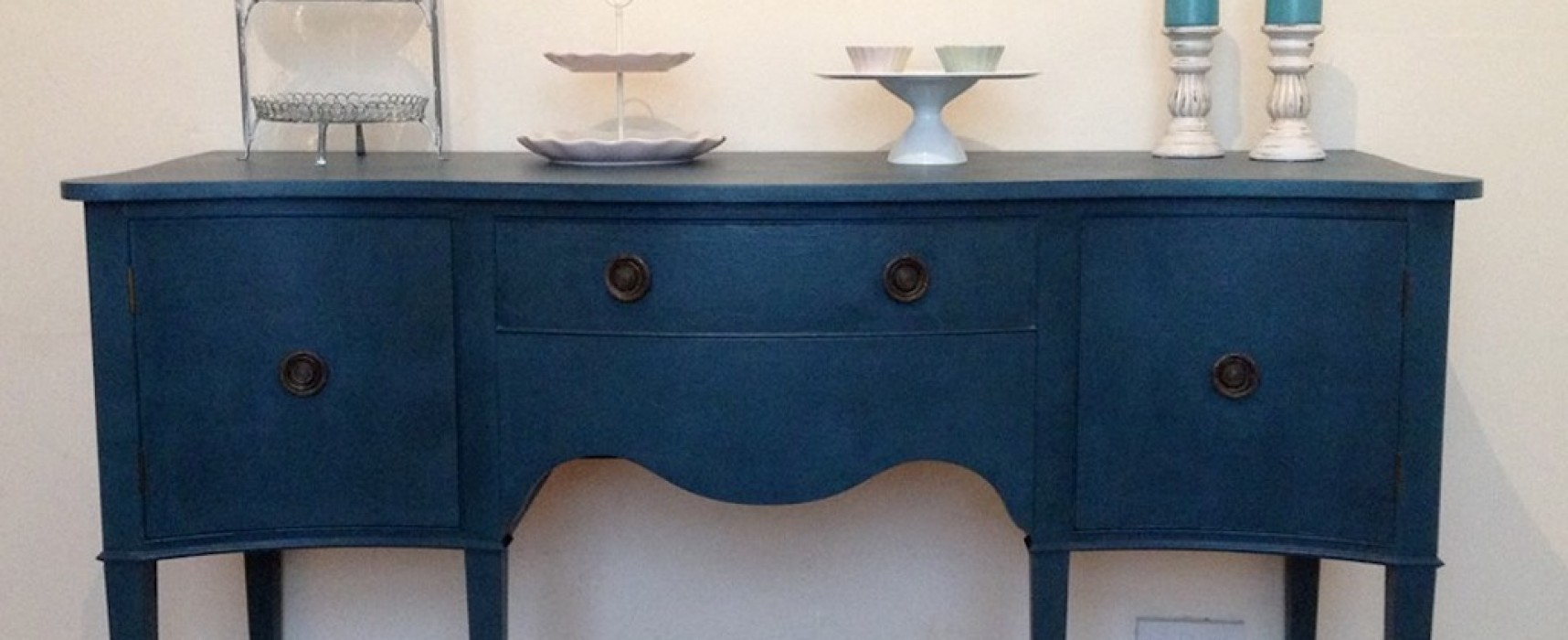 Upcycled furniture and the irresistible charms of Scottish men