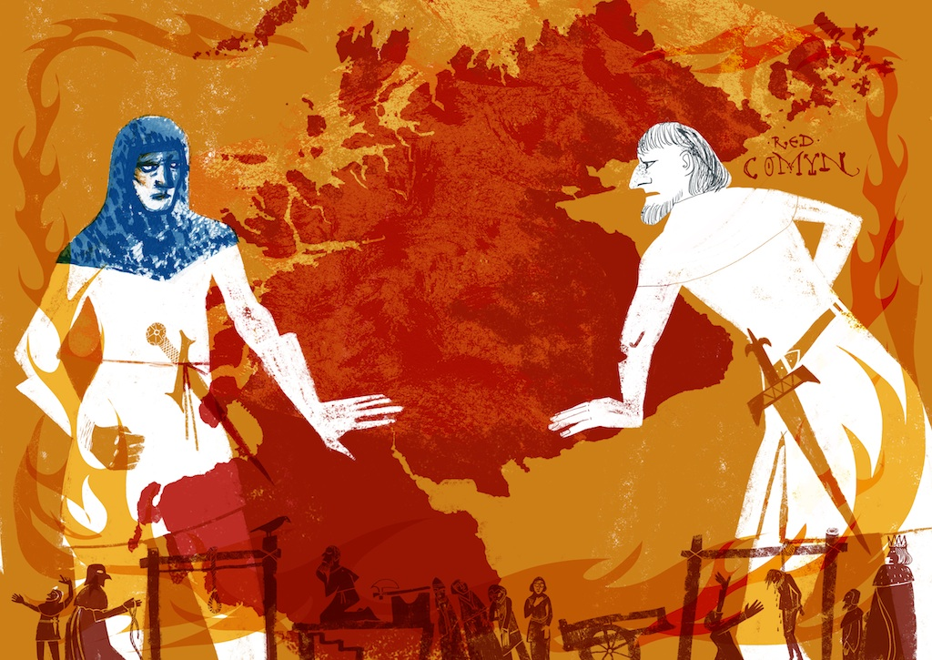 The Rivals: Robert the Bruce and The Red Comyn-Pages22-23