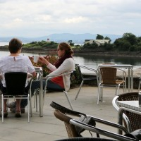 Beachside snacks at Sands Cafe in Aberdour, Fife