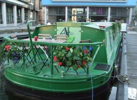 Hotel, Boatel, Holiday Inn? Stay on a boat in the heart of Edinburgh