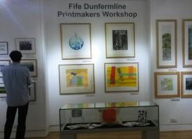 Fife Dunfermline Printmakers exhibit in St Andrews