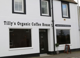Tilly's Vegetarian Cafe, Carnock, Fife
