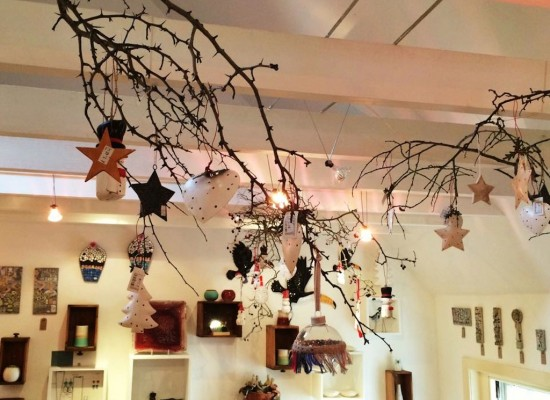 Festive cheer at the Biscuit Gallery & Cafe, Culross