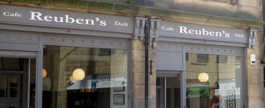 Reuben's Cafe & Winestore shortlisted for best independent eatery award