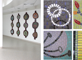 Mosaic Course in Italy run by Edinburgh artist Joanna Kessel