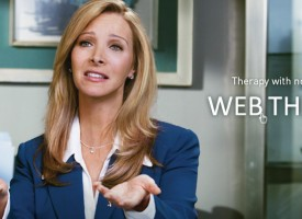Web Therapy: cast of Friends and Meryl Streep in a show you may never heard of…