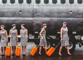 Vintage Air Hostess Uniforms