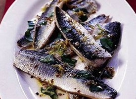 Simple herring recipe from Fyfe Smokery, Dunfermline
