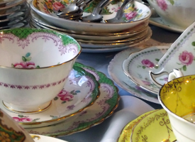 Vintage fair and live jazz at Abbot House this Saturday