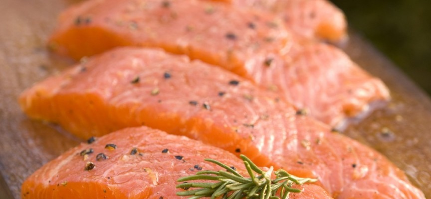 Orange Crumb Salmon by Fyfe Smokery
