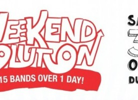 Weekend Revolution: 20 gigs this Saturday in Dunfermline