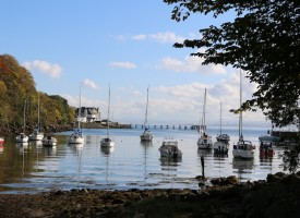 The Fife Coastal Path, Aberdour: the Cote d'azur of Scotland?