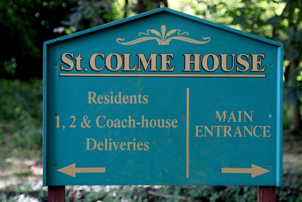 St_Colme_House_Sign_Fife_Coastal_Path