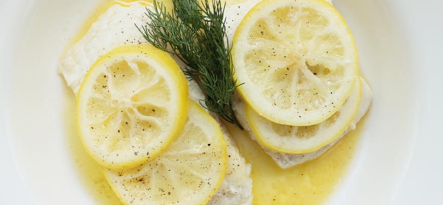 Easy peasy lemon squeezy; simple lemon sauce for fish