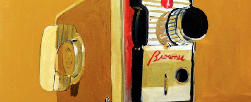 Brilli's brilliant paintings of retro objects
