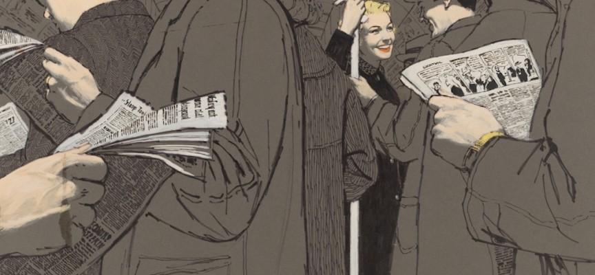 The 'Mad Man' of 50s New York: Illustrator, McCauley 'Mac' Conner
