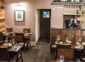 New look interior for Purslane, Stockbridge