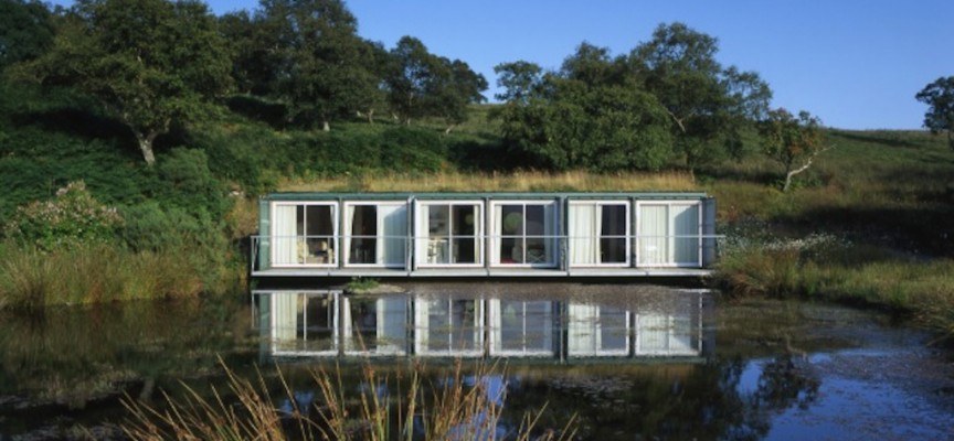 Artist residency to rent at Cove Park, near Helensburgh
