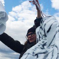 Olga's windsocks take flight