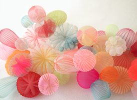 Mariko Kusomoto, making beautiful jewellery from polyester