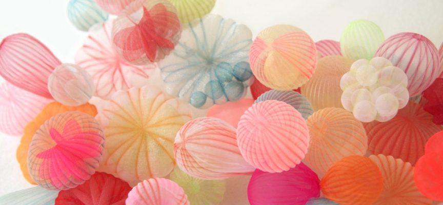 Mariko Kusomoto, making beautiful jewellery from polyester