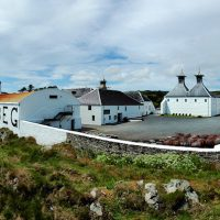 The beautiful Ardbeg Distillery, Islay