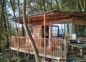 Rustic glamping in Dunfermline, Fife