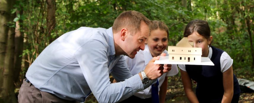 School pupils design their own outdoor classroom