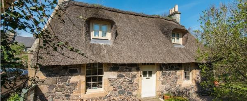 Fife's thatched buildings: new survey published and a thatched cottage goes on sale