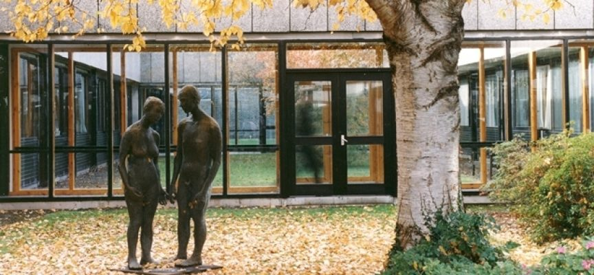 Stirling University: surrounded by art