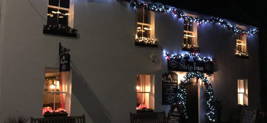 Acoustic music & local Brew Shed beer, The Ship Inn, Limekilns