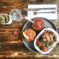 Tasty tacos at La Bodega, Leith Walk, Edinburgh