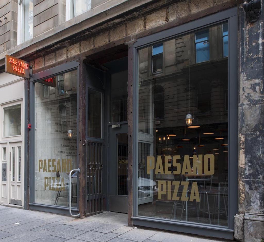 Paesano Pizza Glasgow Avocado Sweet