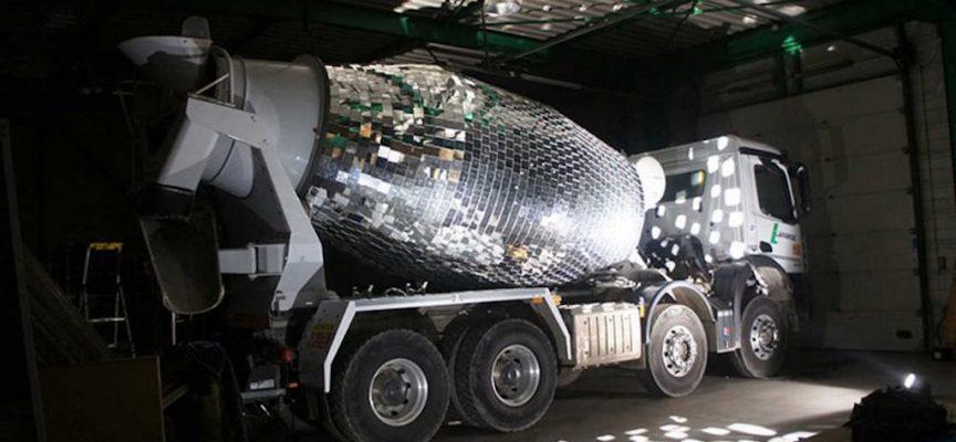 Cement Mixer Disco Ball