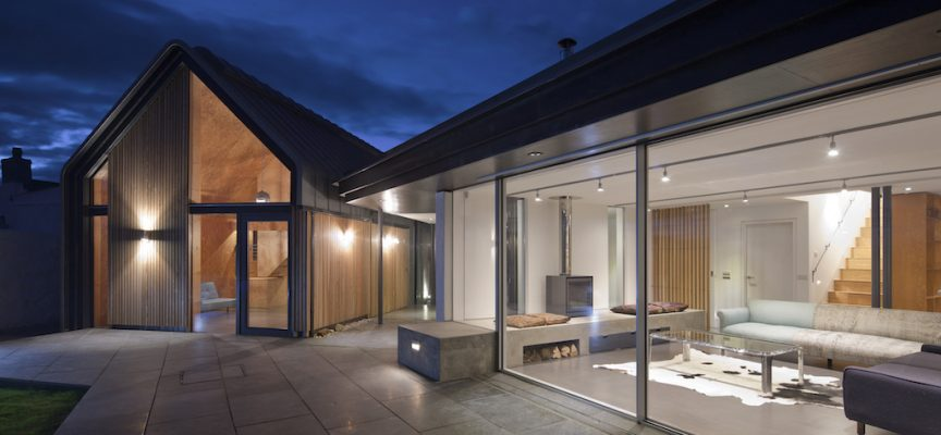 Award-winning house design in Elie, Fife