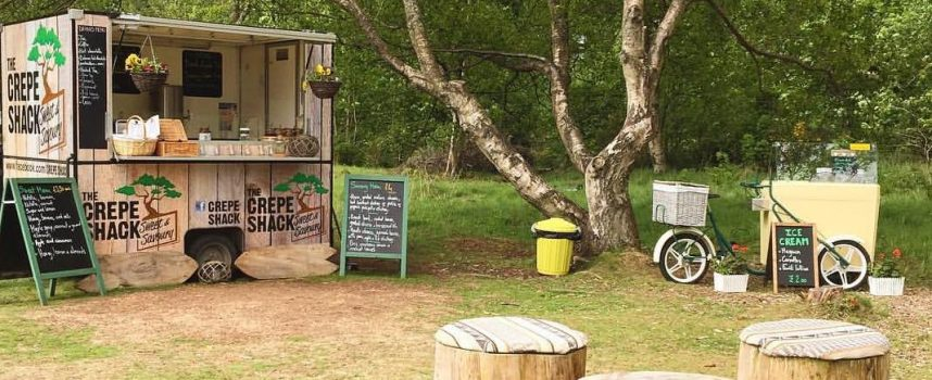 Track down the Crepe Shack at Tentsmuir Forest