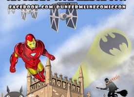 Comic Con, Dunfermline, Saturday 11 March