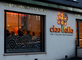 Ciao Italia Wine and Pasta Party, Dunfermline