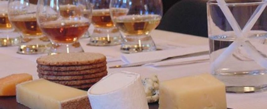 Whisky and Cheese tasting, FSC Dunfermline