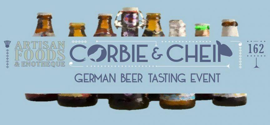 German beer tasting at Auchterarder deli