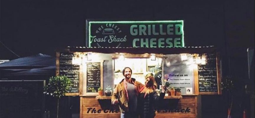 The Cheesy Toast Shack, Kingsbarns beach, nr St Andrews