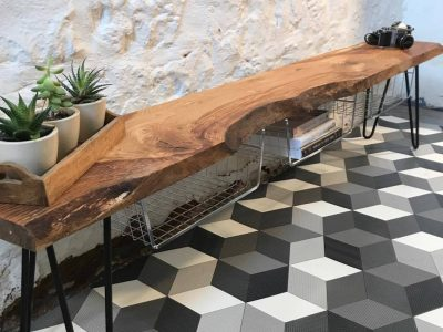 Beautiful wooden tables and chopping boards made in Fife