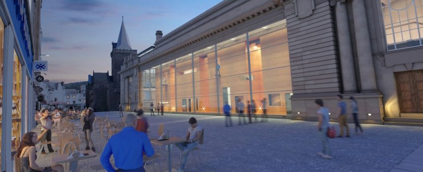 Perth, Scotland: City Hall designs revealed