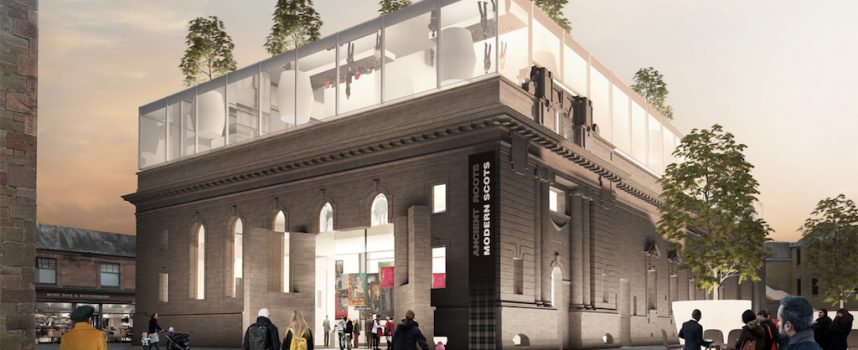 Perth, Scotland: City Hall designs revealed